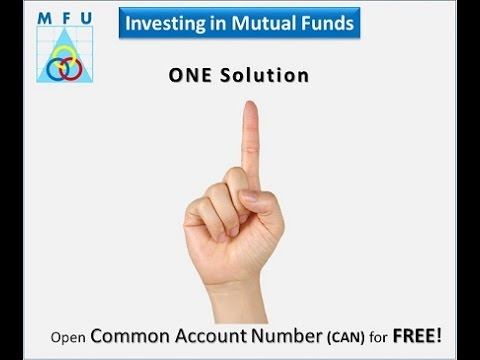 COMMON ACCOUNT NUMBER ( E- Can Mutual Fund Utility )