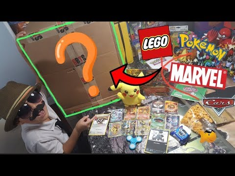 MYSTERY SUPRISE BOX FULL OF TOYS! CARL Opens Tons Of Fanmail, POKEMON CARDS & MORE! FridayFreeday#39
