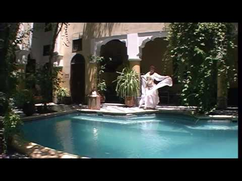 Moroccan riad veil dance with oud and singer Nafee Mohammed