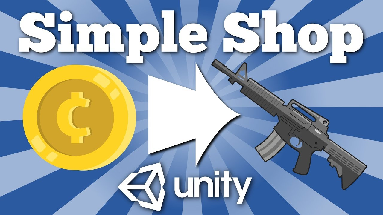 How to make a shop or item store in 2D Unity game. Simple Unity 2D tutorial.