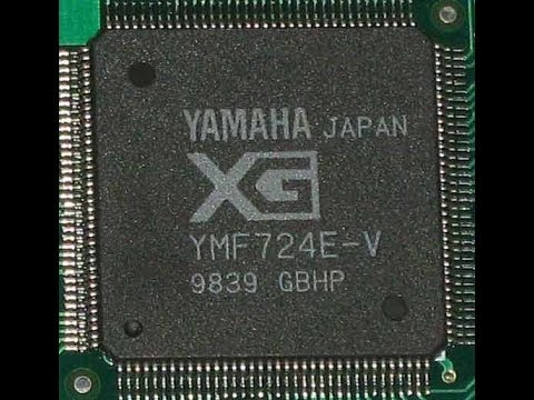 YAMAHA YMF724E-V WINDOWS VISTA DRIVER