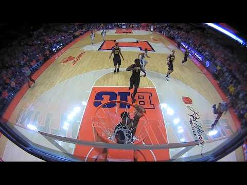 Big Ten Basketball Highlights: Iowa at Illinois
