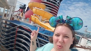 Exploring the Ship! ºOº DISNEY MAGIC Cruise Vlog [ep23]