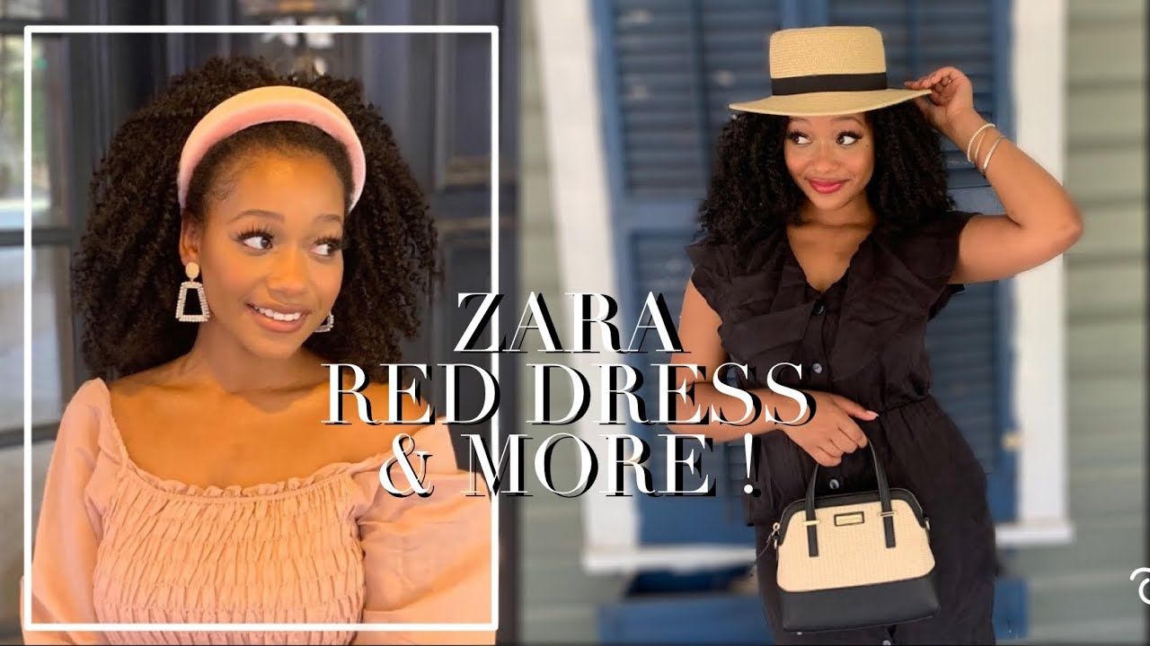 FEMININE & CLASSY End of SUMMER CLOTHING HAUL LOOKBOOK 🎀 Zara, Red Dress Boutique + More!
