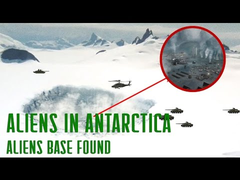 Aliens in Antarctica Secret UFO Base Found...