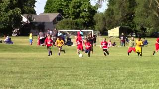 Amazing 7 Year Old Soccer Kid Liam Dominates in the U9 League!