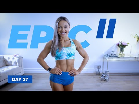 LOADED Glute, Hamstring & Back Workout / Posterior Chain | EPIC II - Day 37