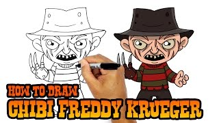 How to Draw Freddy Krueger | Nightmare on Elm Street