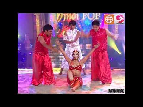 Hindi Pop: Karen Dejo y Edward Mávila (El Gran Show: Reyes del Show 04-12-2010)