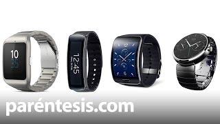 Comparativa: SmartWatch 3 vs. Moto 360 vs. Gear S vs. Gear Fit
