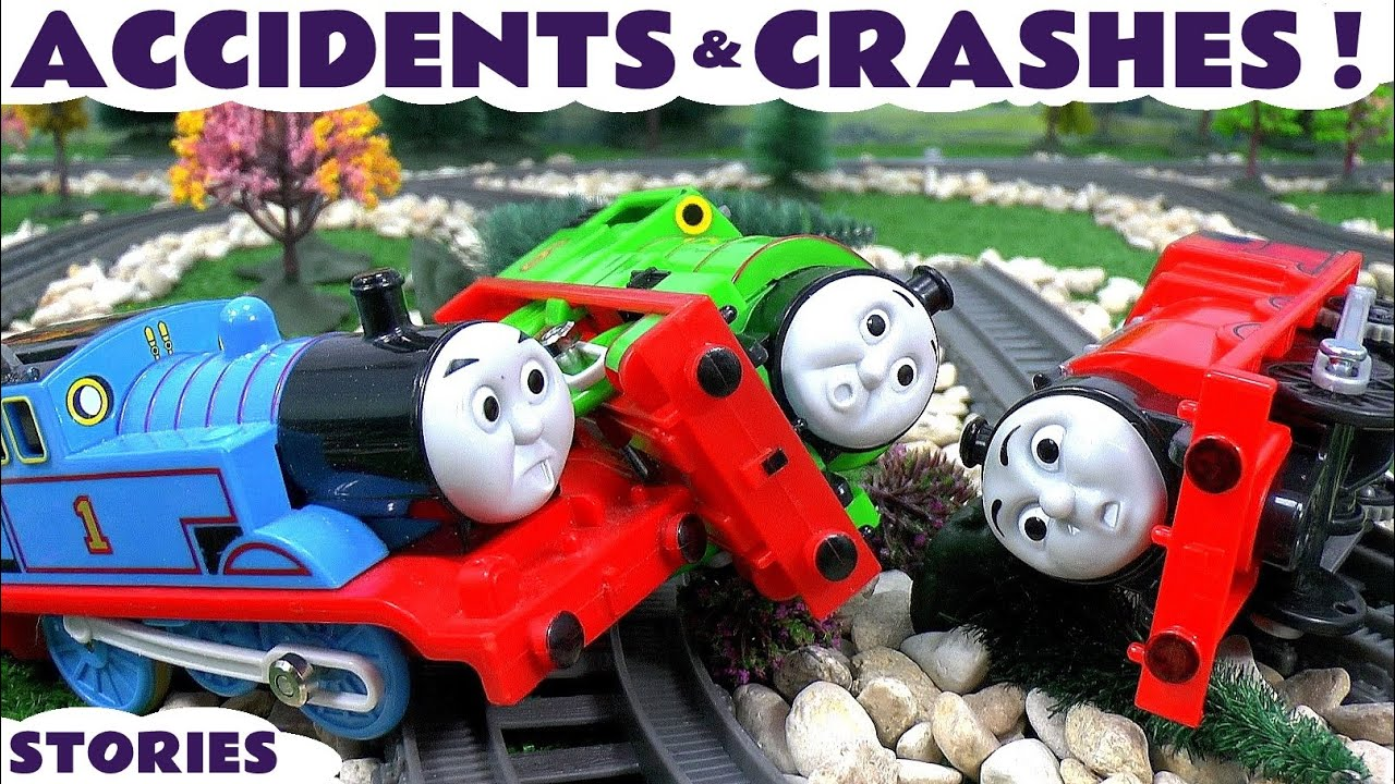 Best Thomas And Friends Toys And Trains : Thomas friends toy train accidents and crashes play doh