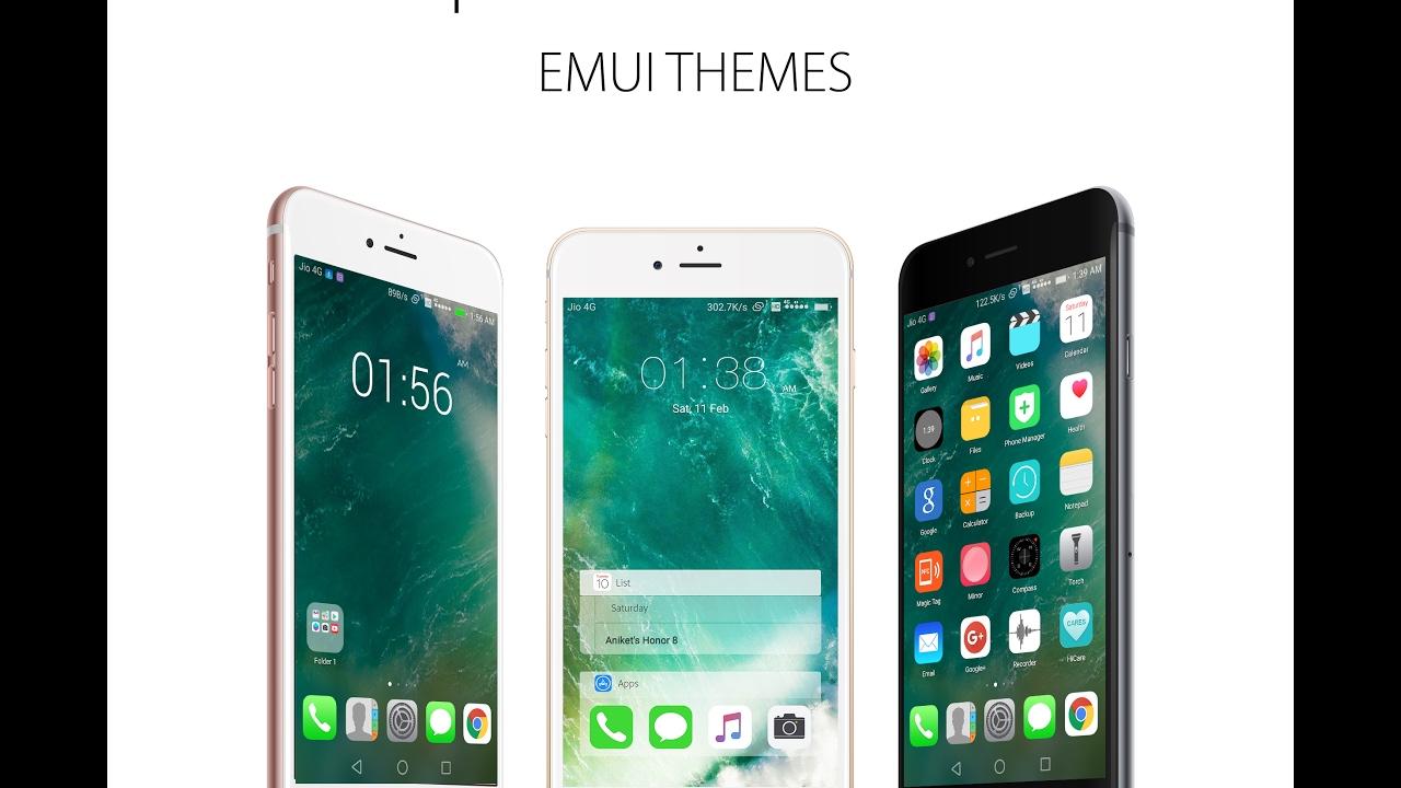 Newest IOS 10 Theme For EMUI | Huawei Theme