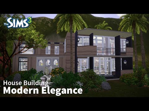 The Sims 3 House Building - Modern Elegance