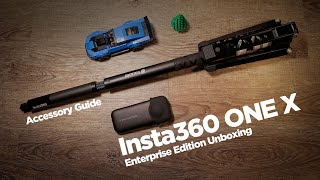 Insta360 ONE X Enterprise Edition - Unboxing & First Impression with Accessory Guide