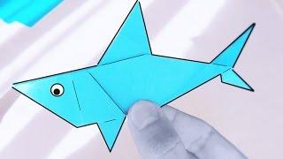 Cómo hacer un TIBURÓN de PAPEL | Tutorial de Origami