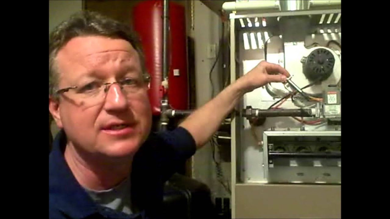 furnace ignitor location gas furnace location