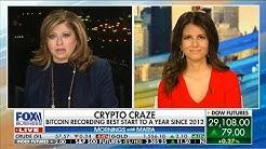 Why is Bitcoin Price Rising?  Kiana Danial w Maria Bartiromo Talking Value of Bitcoin vs. Gold