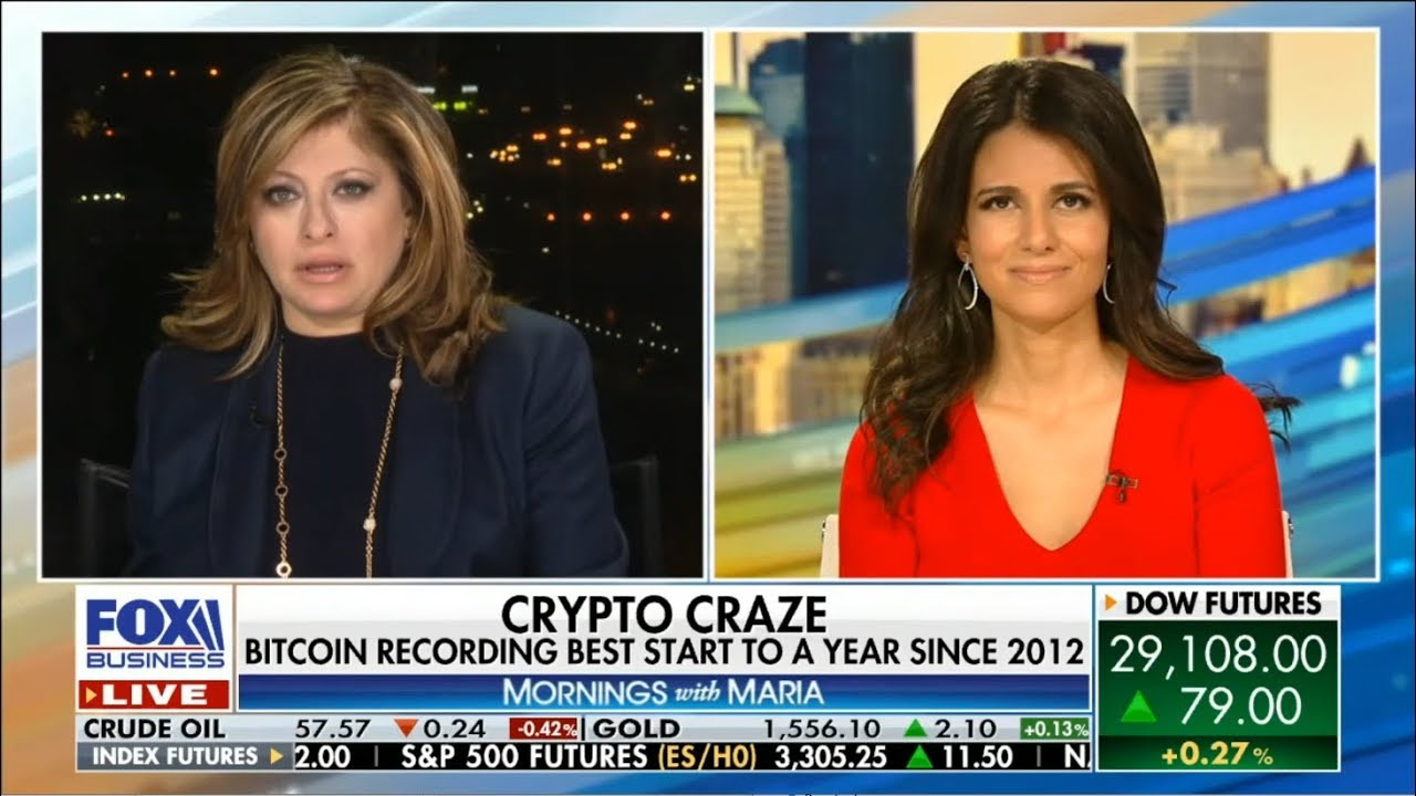 Why is Bitcoin Price Rising?  Kiana Danial w Maria Bartiromo Talking Value of Bitcoin vs. Gold