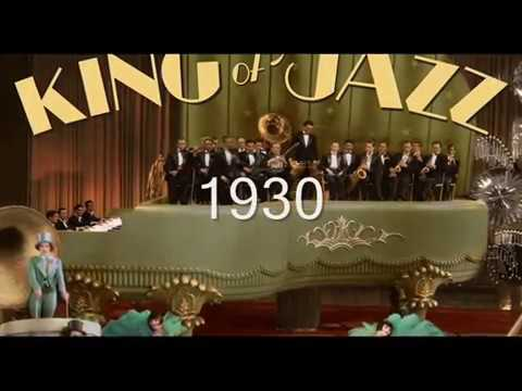 KING OF JAZZ 1930 with BING CROSBY   & PAUL WHITEMAN  early colur