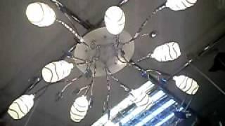 Люстра с пультом ДУ и светодиодной подсветкой 3.MOV(http://sofit-1.ru/ Софит - купить люстры и светильники в Красноярске! Представленная люстра работает в двух режима..., 2010-12-24T16:14:34.000Z)