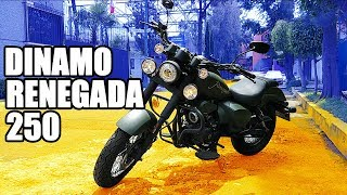 Dinamo Renegada 250 Review || Moto Cruiser accesible pero ¿Es buena?