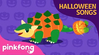 Jurassic Halloween | Dinosaur Songs | Halloween Songs | Pinkfong Songs for Children