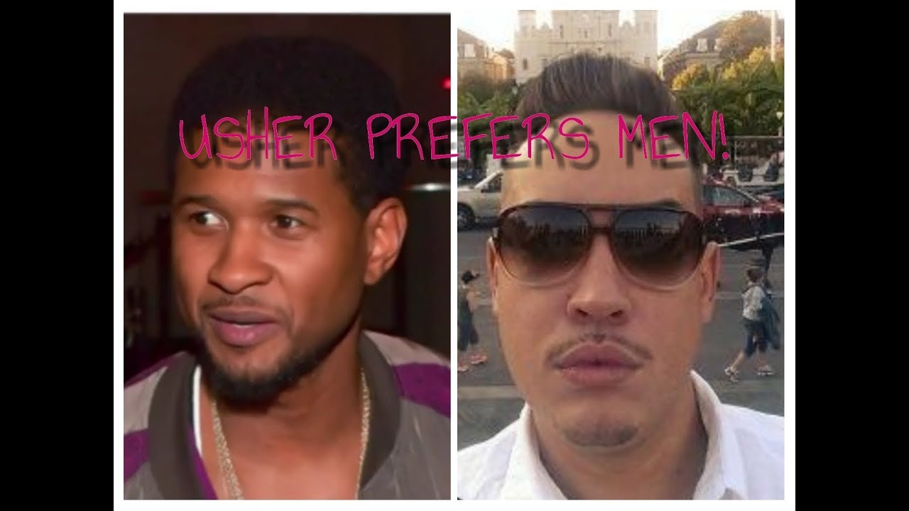 Usher being gay