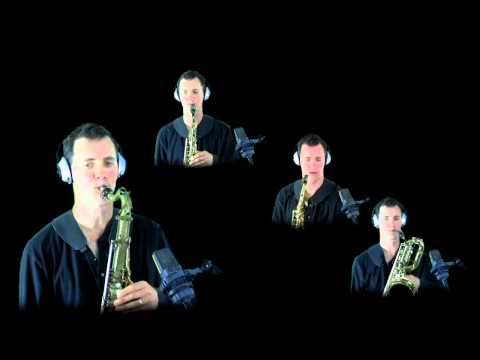 Wade in the Water - sax quartet