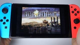 FINAL FANTASY IX Nintendo Switch gameplay