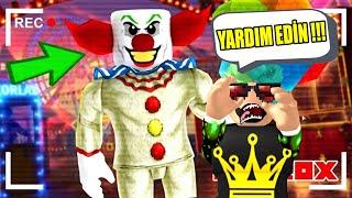 KORKUNÇ PALYOÇODAN DAYAKLI KAÇIŞ | ROBLOX 🎈🤡The Clown Killings Reborn