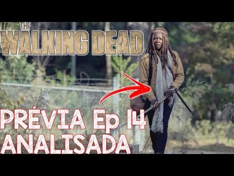 The Walking Dead Prévia Comentada do 14 ep da 9 temporada  MICHONNE GRÁVIDA