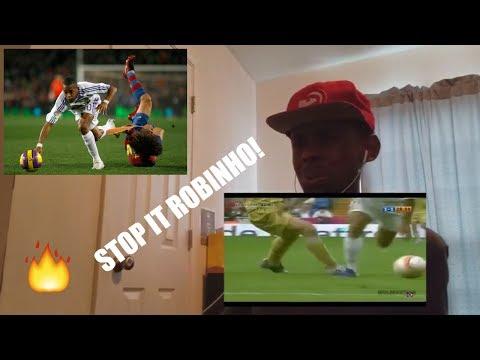 Robinho Amazing Skills - Show REACTION!!