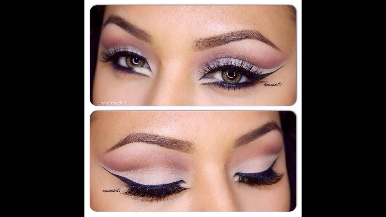 Tutorial de maquillaje felino en tonos neutros Juancarlos960 YouTube