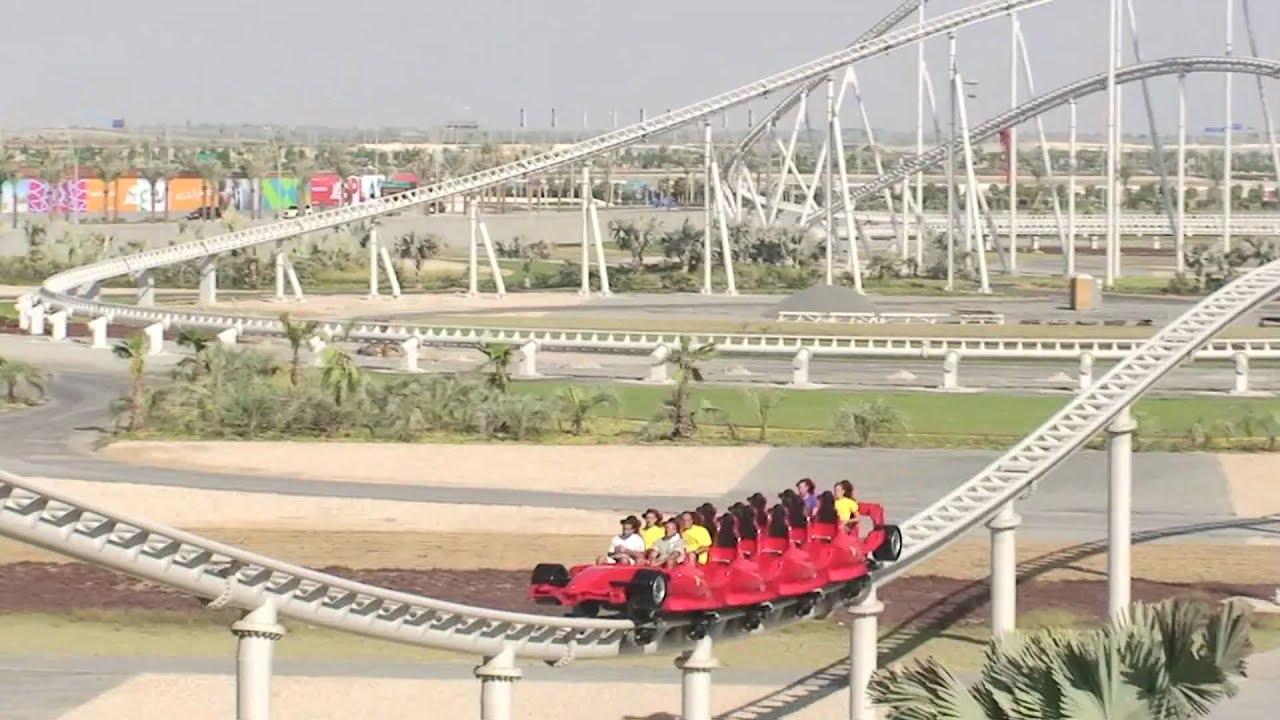 Formula Rossa Ferrari World Abu Dhabi Youtube