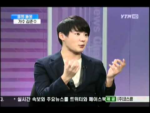[ENG SUB] 110112 Kim Junsu Interview on YTN News and Issue Part 1