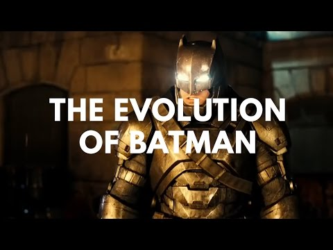The Evolution of Batman in Television & Film