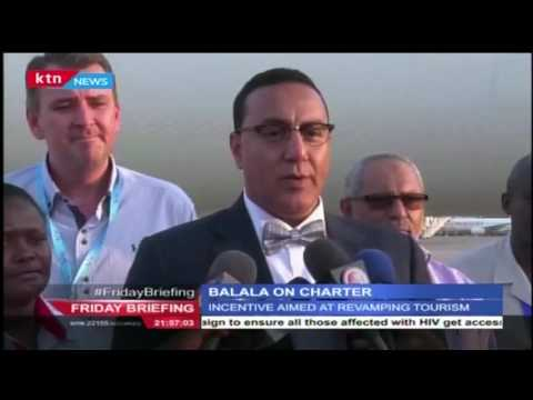 CS Balala on Charter incentive program to boost tourism to Mombasa and parts of the coastal region