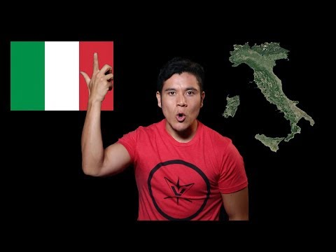 Geography Now! Italy