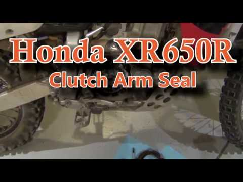 Honda XR650R Clutch Arm Seal - Replacement