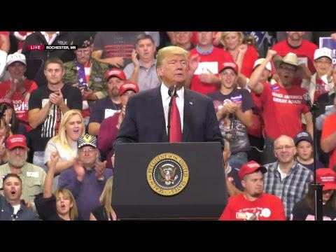 LIVE: President Trump In Rochester, MN