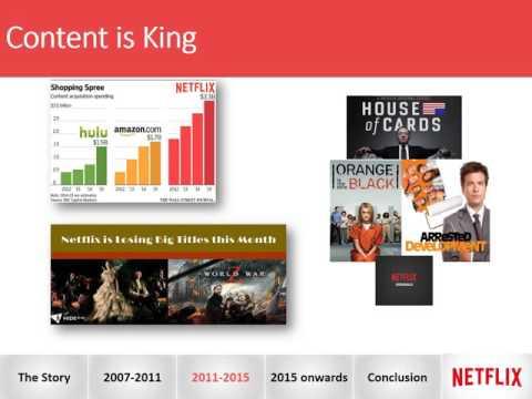 Netflix   The Evolving Business Model