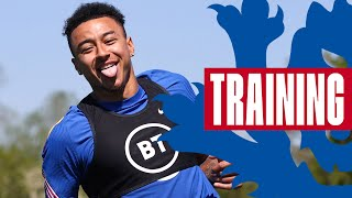 Sancho v Bellingham, Watkins' Fine Finishing & Kane's Golden Boots 🔥 | Inside Training | England