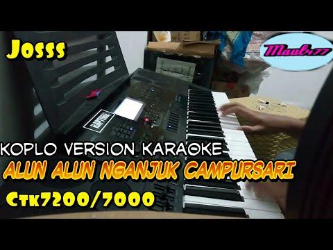CAMPURSARI : Alun Alun Nganjuk karaoke dangdut koplo casio ctk 7200/7000