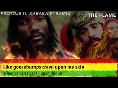 The Flame - Protoje ft Pyramid (LYRICS)