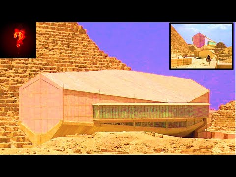 """""""Flying Ship"""" Found Under The Great Pyramid?"""