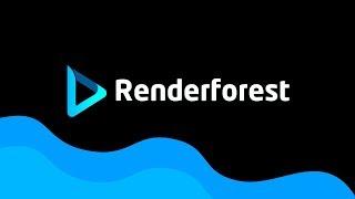 Animowane logo! Renderforest