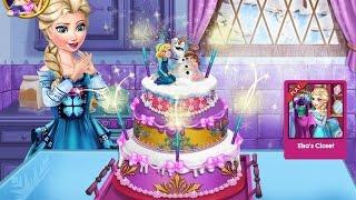 NEW мультики для детей—Принцесса печет свадебный торт—игры для девочек/Princesses Wedding Cake