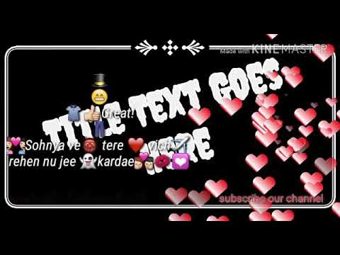 Silent love  new punjabi song lyrics video/ista/watsapp/fb/ subscribe our channel for latest updates