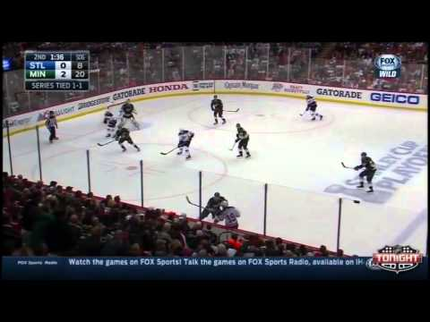 Minnesota Wild vs St Louis Blues. PlayOff NHL 2015