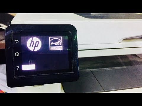 how to factory reset HP Color LaserJet Pro MFP M277dw